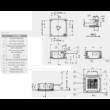 LG Standard CT09R/UU09WR Kazettás Split klíma szett