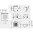 LG Standard CT18R/UU18WR Kazettás Split klíma szett