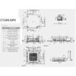 LG Standard CT24R/UU24WR Kazettás Split klíma szett