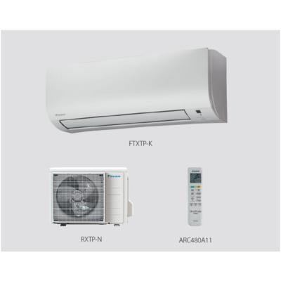Daikin Comfora FTXTP25K / RXTP25N8 fűtésre optimalizált Oldalfali Split klíma szett