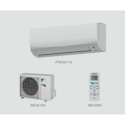 Daikin Sensira FTXF71A /RXF71A Oldalfali Split klíma szett