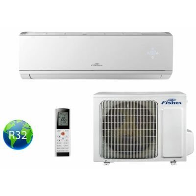 Fisher Comfort Plus FSAI-CP-90BE3 / FSOAI-CP-90BE3 Oldalfali Split klíma szett
