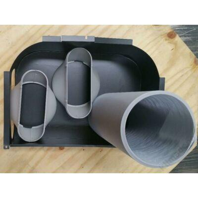 Fisher Double Duct Kit Kiegészitő szett kétcsöves kialakításhoz FPR-91-121-141DE4-R berendezésekhez
