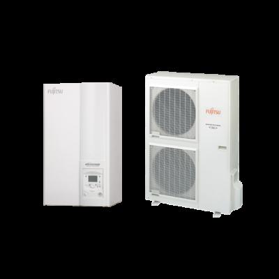 Fujitsu Waterstage  SHP 15 / 3F Super High Power WSYK160DG9 / WOYK112LCTA levegő-víz hőszivattyú