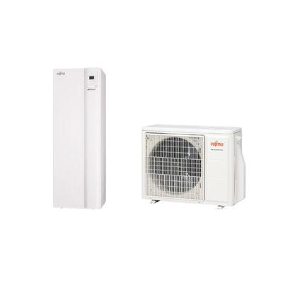 Fujitsu Waterstage Comfort WGYA080ML3 / WOYA080KLT levegő-víz hőszivattyú integrált HMV tartállyal