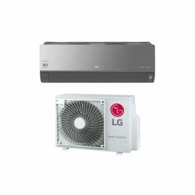 LG Artcool Silver AC12SQ Oldalfali Split klíma szett