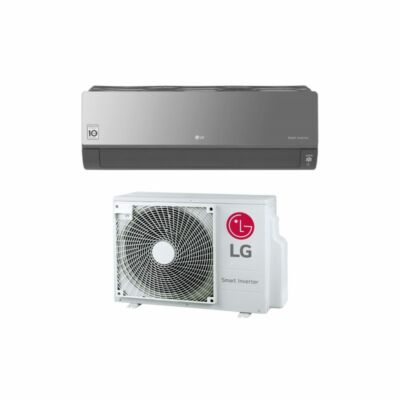 LG Artcool Silver AC18SQ Oldalfali Split klíma szett