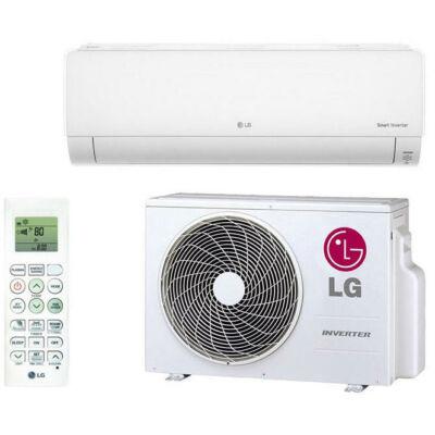LG Deluxe DC09RQ Oldalfali Split klíma szett