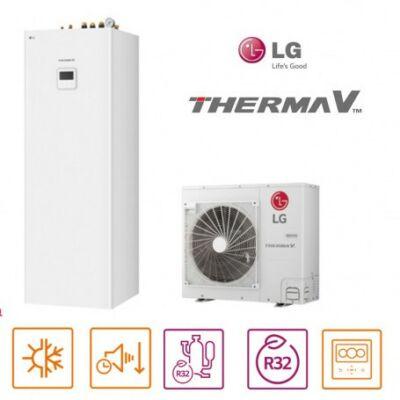 LG Therma-V HN0916T.NB1 + HU091MR.U44 hőszivattyú szett