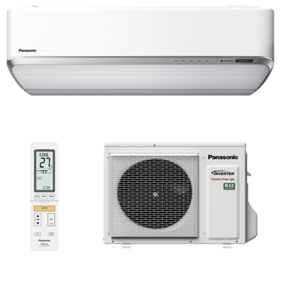 Panasonic Heatcharge KIT-VZ12-SKE oldalfali split klíma szett
