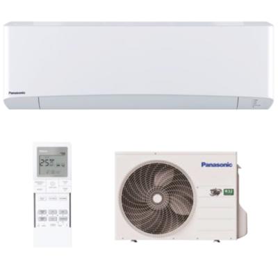 Panasonic Nordic Etherea KIT-NZ25-VKE oldalfali, fűtésre optimalizált split klíma szett