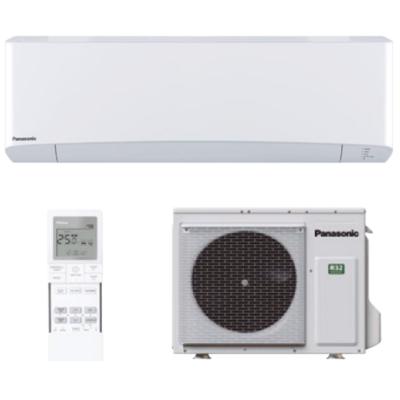 Panasonic Nordic Etherea KIT-NZ50-VKE oldalfali, fűtésre optimalizált split klíma szett