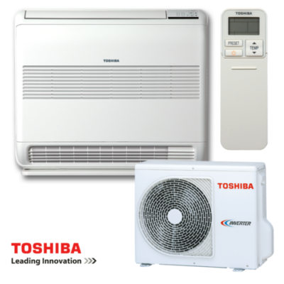 Toshiba Konzolos RAS-B13U2FVG-E1/ RAS-13PAVSG-E Parapetes Split klíma szett