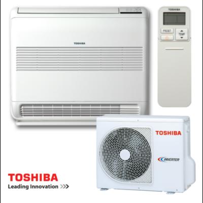 Toshiba Konzolos RAS-B10U2FVG-E1/ RAS-10PAVSG-E Parapetes Split klíma szett