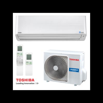 Toshiba Daiseikai 9 RAS-10PKVPG-E / RAS-10PAVPG-E Oldalfali Split klíma szett