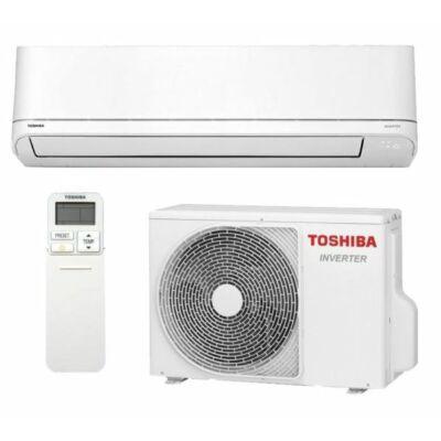 Toshiba Suzumi Plus RAS-B24PKVSG-E / RAS-24PAVSG-E Oldalfali Split klíma szett